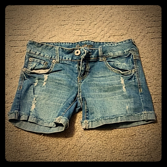 Amethyst Jeans Pants - Amethyst Jean shorts